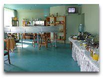 отель Dzintarjura: Ресторан