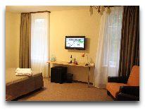 отель Dzintars: Номер Suite+веранда