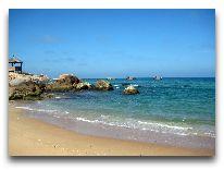отель Eco Spa Village: Пляж