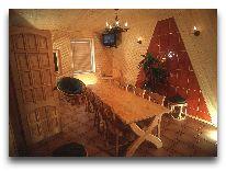 отель Ecoland: Комнота отдыха при сауне