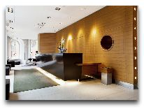 отель Elite Hotel Stockholm Plaza: Ресепшен