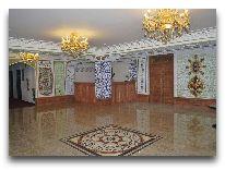 отель Emirkhan: Холл отеля