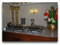 отель Emir Han: Ресторан отеля