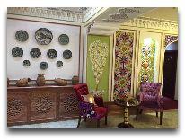 отель Emir Han: Холл отеля