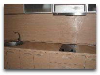 санаторий Sanatorium Energetikas & Amber SPA: Кухня в апартаментах в центре