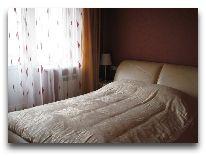 санаторий Sanatorium Energetikas & Amber SPA: Спальня в апартаментах в центре
