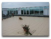 санаторий Sanatorium Energetikas & Amber SPA: Терраса в Amber SPA