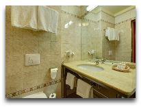 отель Europejski: Ванная в одноместном номере