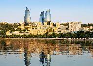 отель Fairmont Baku Flame Towers: Вид на башни