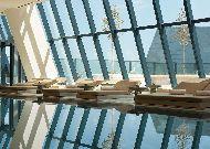 отель Fairmont Baku Flame Towers: Бассейн отеля