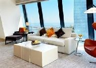 отель Fairmont Baku Flame Towers: Номер Suite Grand с видом на море