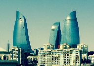 отель Fairmont Baku Flame Towers: Башни