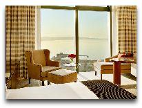 отель Fairmont Baku Flame Towers: Номер Deluxe с видом на Каспийское море