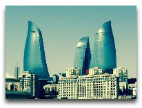 отель Fairmont Baku Flame Towers: Башни