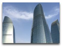 отель Fairmont Baku Flame Towers: Фасад