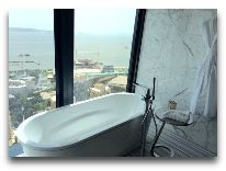 отель Fairmont Baku Flame Towers: Номер Fairmont gold signature suite