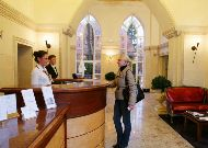 отель Falke Hotel Resort: Ресепшен