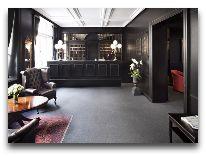 отель First Hotel Kong Frederik: Ресепшен