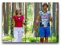 отель Fra Mare Thalasso SPA: Ходьба по лесу с палками