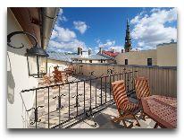 отель Garden Palace: Терраса на крыше