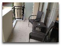 отель Georgia Palace Hotel: Балкон в номере Twin