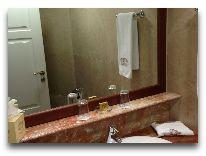 отель Georgia Palace Hotel: Ванная в номере Suite Dolce Vita