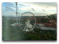 отель Gothia Towers: Вид из окна номера superior