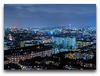 отель Gothia Towers: Вид на Гетеборг с высоты 29 этажа отеля