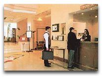 отель Grand Hotel Europe Baku: Ресепшн