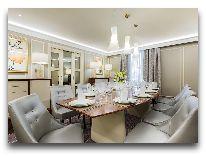 отель Grand Hotel Kempinski Riga: Президентский номер.