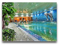 отель Grand Marine: Закрытый бассейн