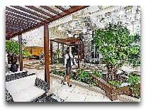 отель Grand Marine: Зимний сад