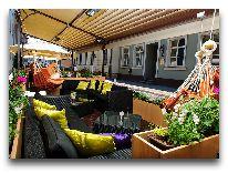 отель Grand Palace: Летняя терраса ресторана SUITE