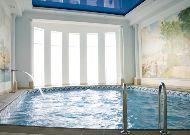 отель Гранд Палас: Закрый бассейн