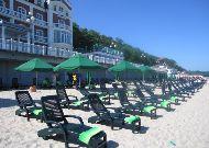 отель Гранд Палас: Пляж отеля