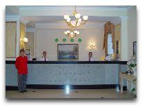 отель Grand Park Esil: Решепшен