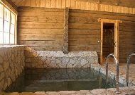 отель Grand Rose SPA: Бассейн у сауны