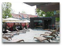 отель Grand Rose SPA: Терраса для загара