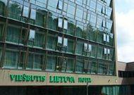 отель Grand SPA Lietuva: Фасад отеля Lietuva