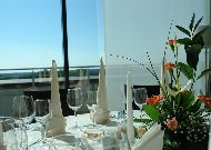 отель Grand SPA Lietuva: Панорамный ресторан
