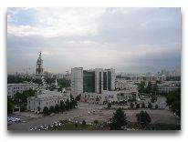 отель Grand Turkmen: Вид из окна отеля