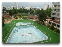отель Grand Turkmen: Бассейн отеля