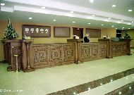 отель Grand Mir Hotel: Ресепшен