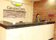 отель Green City Bishkek: Решепшен отеля