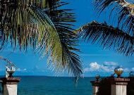 отель Green Papaya Organic Village: Выход на пляж