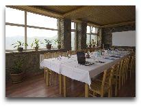 отель Gudauri Hut: Ресторан