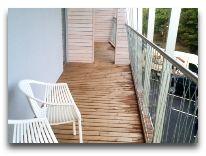 отель Hedon Spa Hotel: Балкон номера Suite