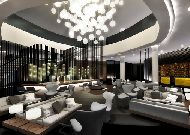 отель Hilton Tallinn Park: Лобби бар