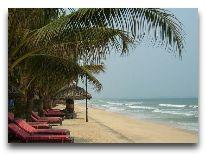отель Hoang Ngoc Beach Resort: Пляж