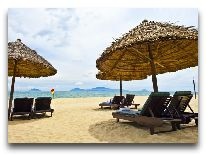 отель Hoi An Beach Resort: Пляж